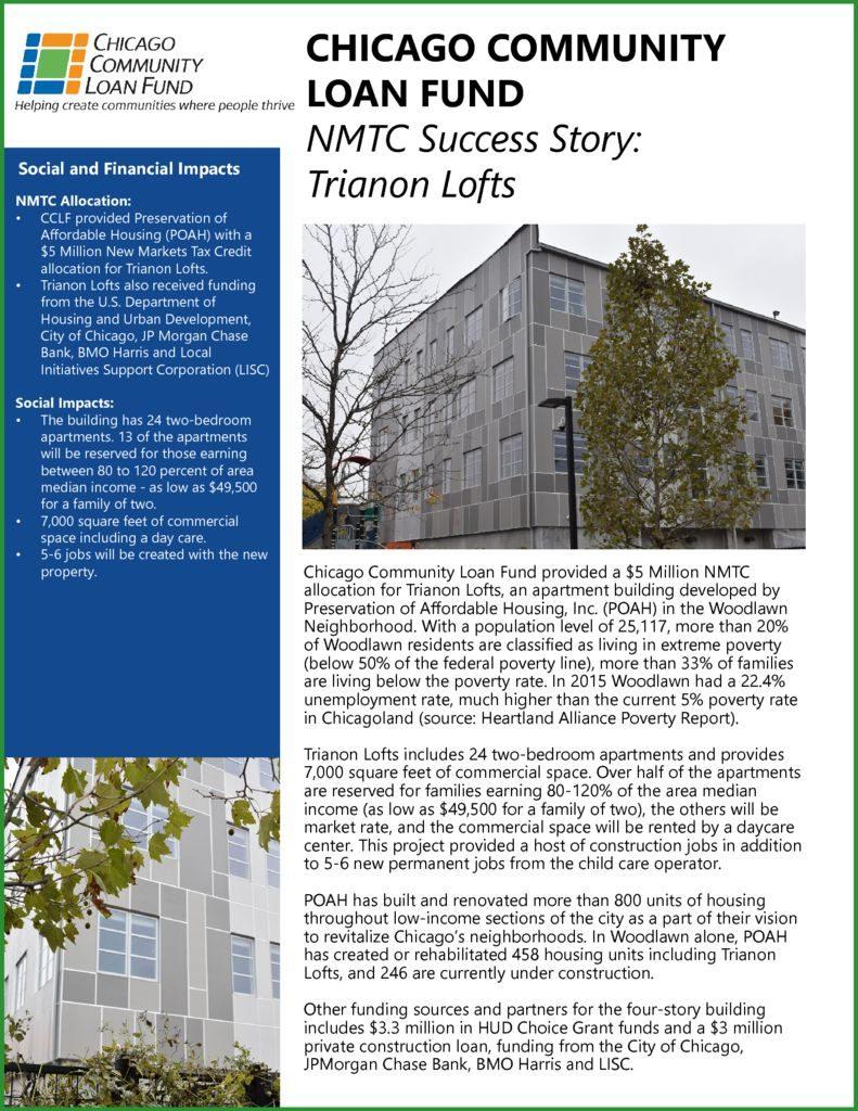 thumbnail of CCLF NMTC Success Stories